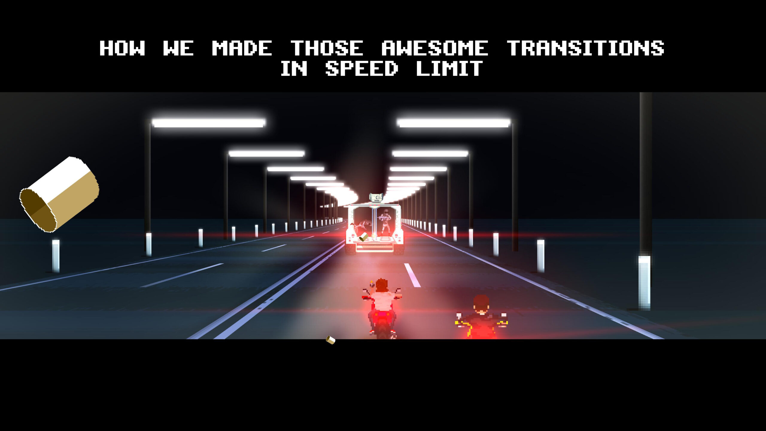 This is how we made awesome transitions in Speed Limit